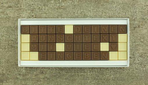 48er Schoko-SMS - Mit deinem Wunschtext