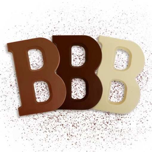 Schoko-Großbuchstabe B