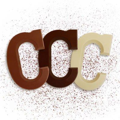Schoko-Großbuchstabe C