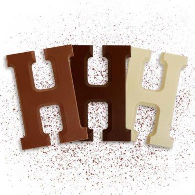 Schoko-Großbuchstabe H
