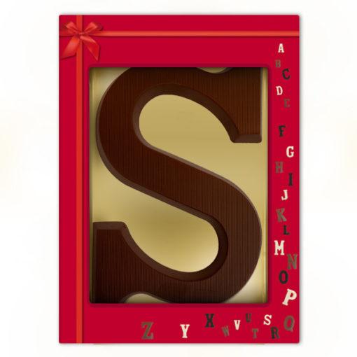 Schoko-Großbuchstabe S