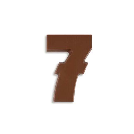 Riesen Schokozahl 7
