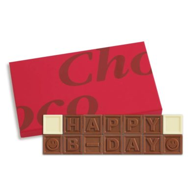 14er-Schoko-SMS - Happy B-day