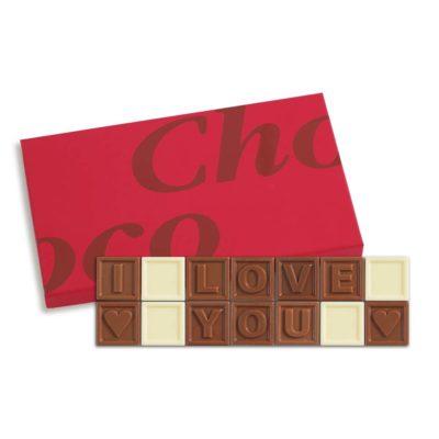 14er-Schoko-SMS - I love you