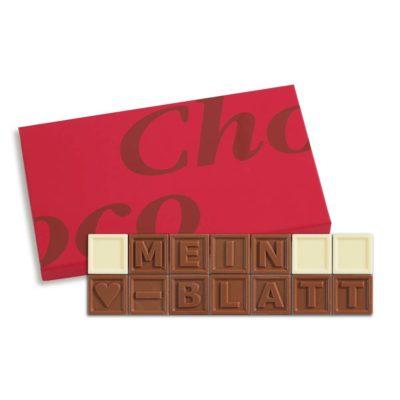 14er-Schoko-SMS - Mein Herzblatt