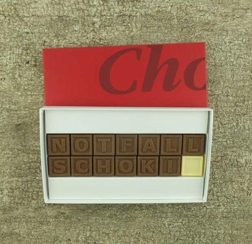 14er-Schoko-SMS - Notfallschoki
