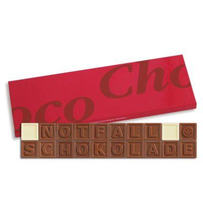 20er-Schoko-SMS - Notfallschokolade