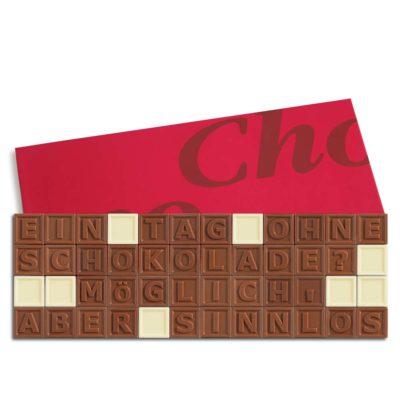 48er-Schoko-SMS - Ein Tag ohne Schokolade? Möglich aber sinnlos