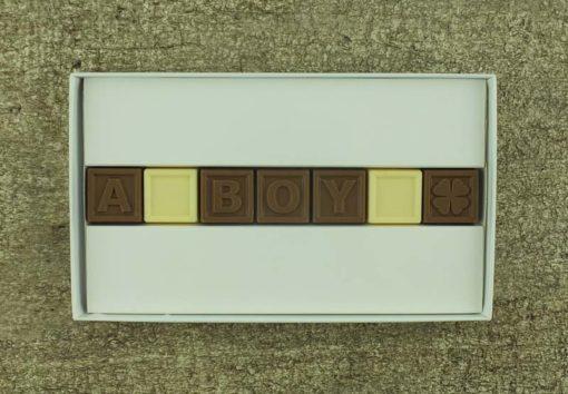 7er-Schoko-SMS - A boy