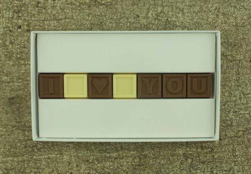 7er-Schoko-SMS - I love you
